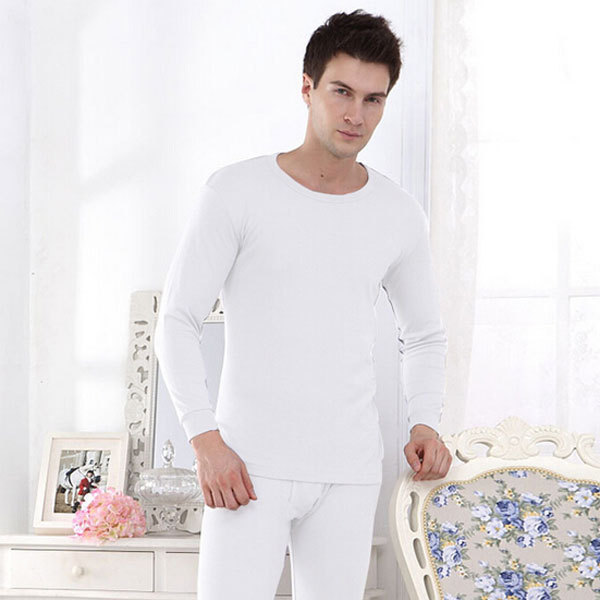 Много цвет сплошной тонкий мужчины пижамы комплект приталенный весна и осень пижамы ...
