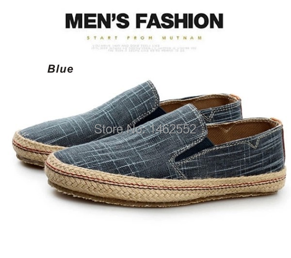 Linen Oxford Shoes Low Mouth Oxford Shoes|