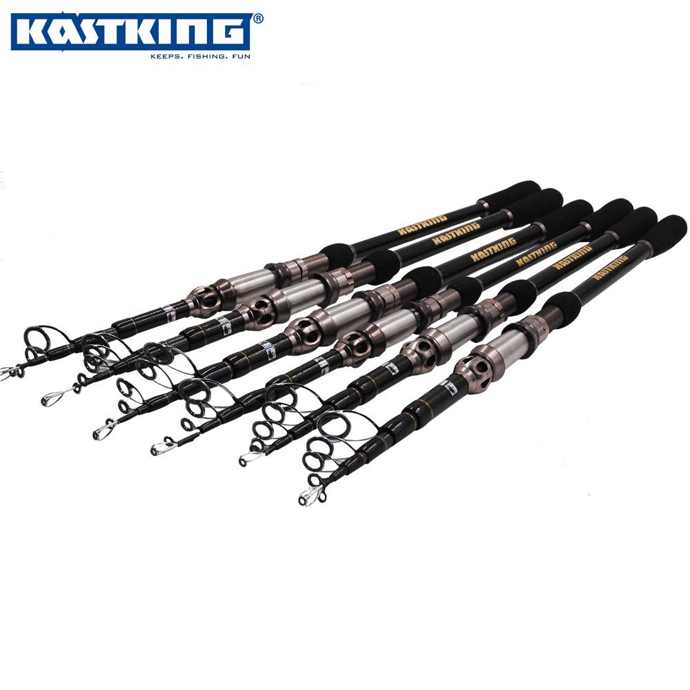 KastKing 2.1M Top Quality Metal Reel Seat Telescopic Fishing Rod Carbon Spinning Rod(China (Mainland))
