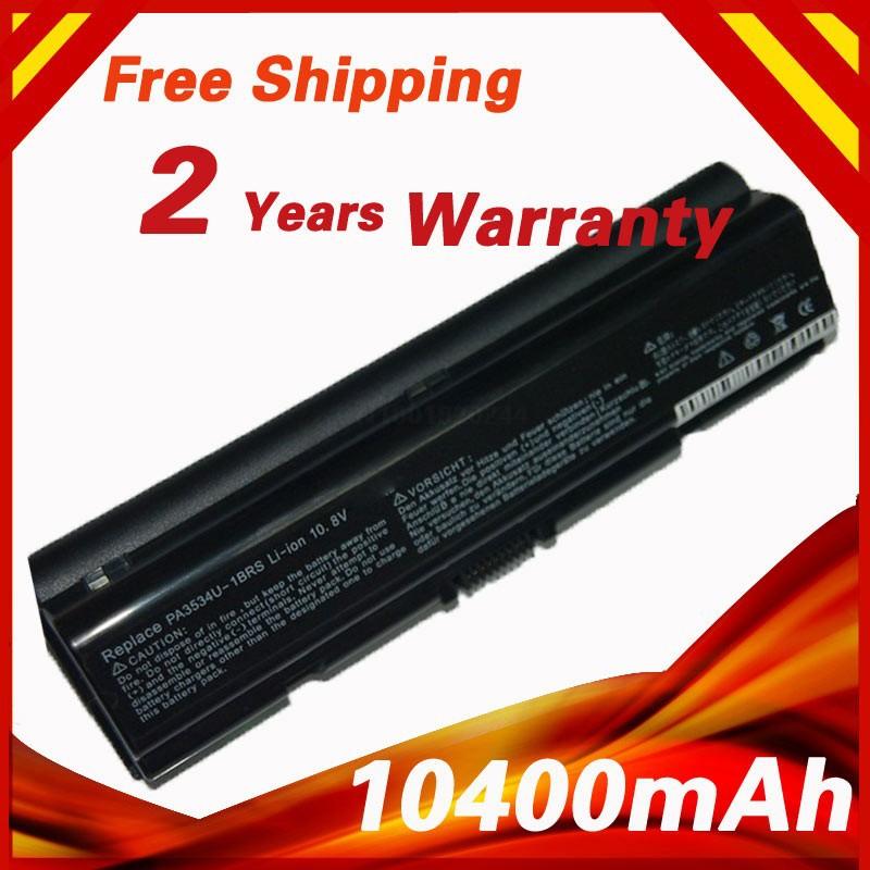 12 cells battery for toshiba PA3533U-1BAS PA3534U PA3534U-1BRS PA3535U-1BAS PA3727U-1BAS PABAS098 PABAS099 PABAS174(China (Mainland))