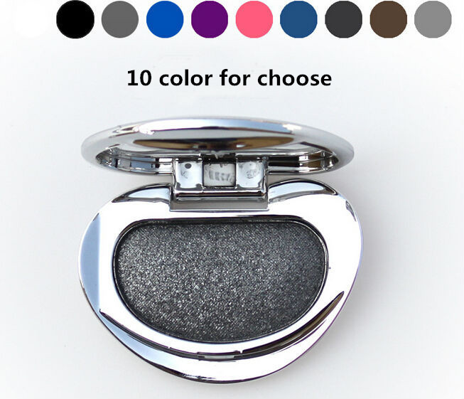 Diamond Single Baked Eye Shadow Powder Makeup Palette in Shimmer Metallic Glitter Cream Eyeshadow Palette(China (Mainland))