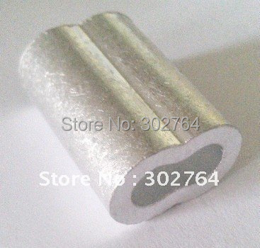 aluminum FERRULES TO SUIT 50MM*50PCS STAINLESS WIRE ROPE free shippingmarine hardware