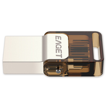 EAGET V9 8G 16G 32G USB Stick Ultra Thin Pendrive Metal USB Flash Drive USB2 0
