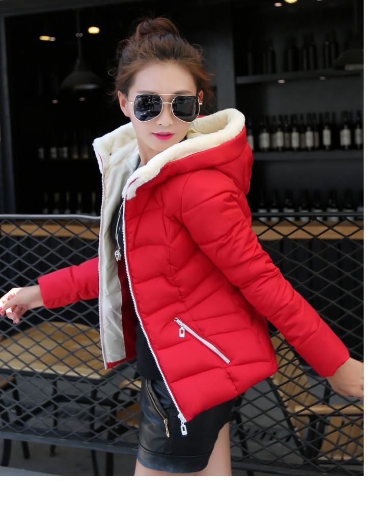 Скидки на 2016 Бросился Молния Broadcloth Тонкий Новый Зимний Плюс Размер Thicking женщины Вниз Пальто Куртки Средней Длины Женщина Парка С хлопок