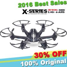 MJX X800 Drone 2.4G 4CH 6 Axis Gyro Headless Mode 720P FPV Set Fit 3D Roll RC Hexacopter RTF