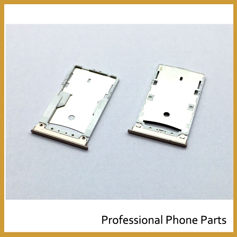 10 pcs /Lot, Original For xiaomi MI MAX SIM Card Tray Slot Holder Replacement Parts Silvery/Golden