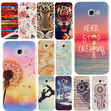 Buy Cartoon Rose Tiger Printing Soft Silicone TPU Back Case Cover SAMSUNG GALAXY A3 A5 A7 2017 A320 A520 2016 A510 Phone Bags for $1.09 in AliExpress store