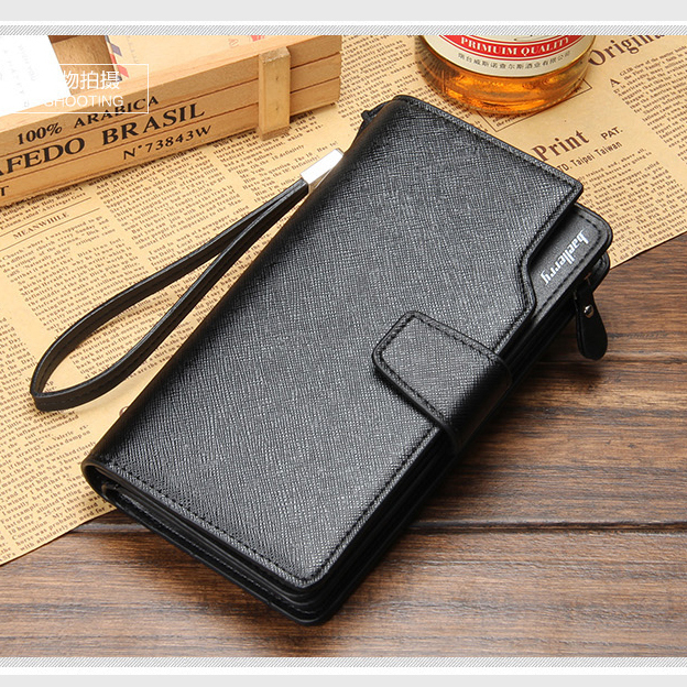 2015 NEW Men brand quality day clutches genuine leather wristlet handbag male big capacity clutch wallets FREE SHIPPING(China (Mainland))