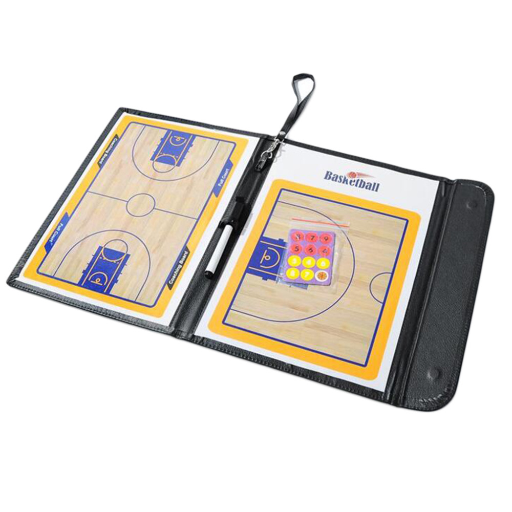 High Quality basketball Strategy Board Tactics Board basketball Coaching Board luxury version 2Colors Promotion(China (Mainland))