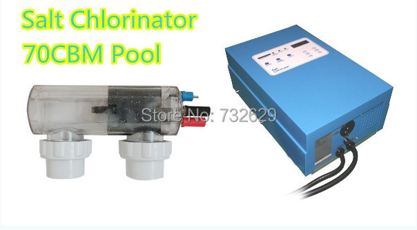 Fiberglass Swimming pool Auto Salt Chlorinator for 70cbm Water Treatment Pentair Chlorinator Generator 30g/h(China (Mainland))