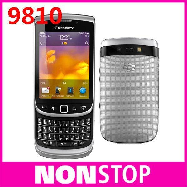 9810 Original BlackBerry Torch 9810 GPS WIFI 5MP JAVA QWERTY Keyboard Unlocked Mobile Phone(China (Mainland))