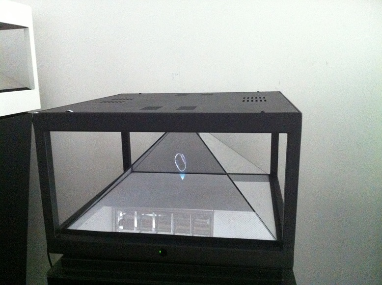 360 Degree  Hologram Pyramid Showcases, 4 Sides View 3D Hologram Projector<br><br>Aliexpress