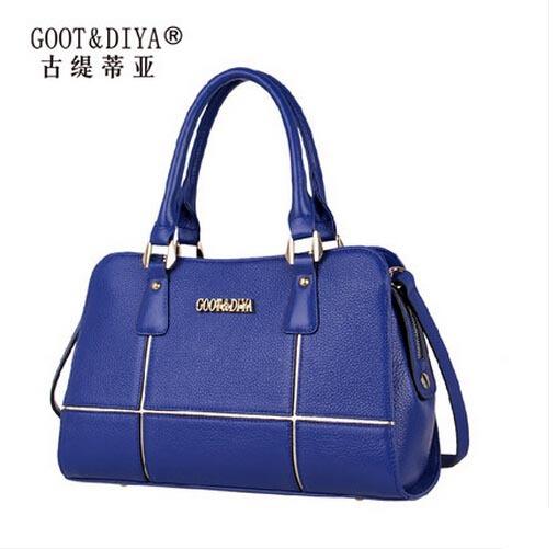 Famous brand women bag high quality 100% genuine leather bag  fashion women handbags Messenger bag<br><br>Aliexpress