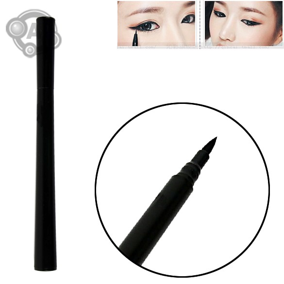 New Design Instant Black Quickly Dry Liquid Eyeliner Pen Eye Liner Pencil Cosmetic 25(China (Mainland))