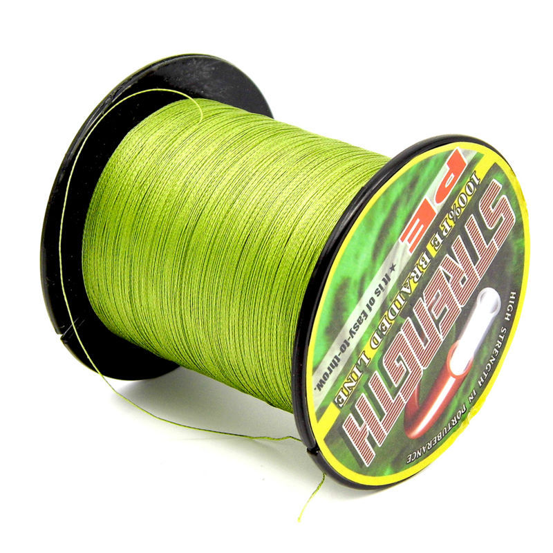 The 300 M 10 Colors Pe Multifilament Super Braided Fishing Line Spider Wire Rope Cord Fishing Tackle 2.7kg To 49kg Peche Carpe(China (Mainland))