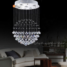 Modern Chandeliers Crystal Pendant Lamp First-Level K9 Crystal Chandelier For Living Room Free Shipping(China (Mainland))