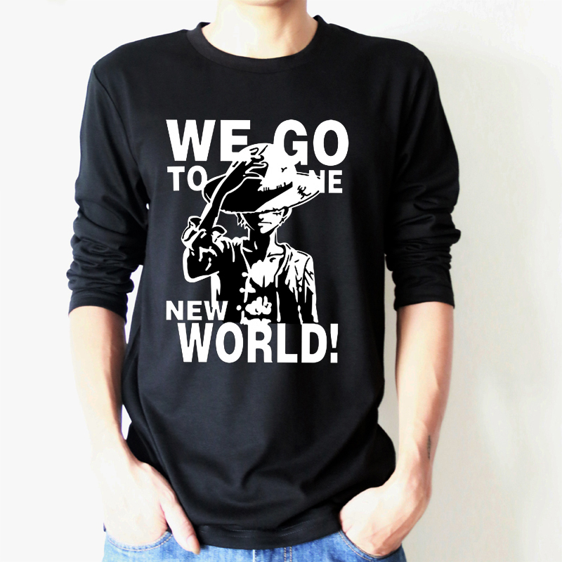 men t shirt cartoon lovely death doctor animation clothing for men and women Metrosexual wear long sleeved T-shirt(China (Mainland))
