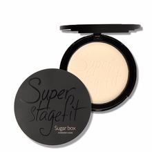 3Color Sugar Box New Fabulous Pressed Face Make up Powder Makeup Powder Palette Skin Finish(China (Mainland))
