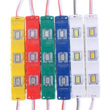 Big Promotion Multicolor DC12V 5630 SMD 3 LED Module Injection Waterproof IP55 Decorative Hard Strip Bar Light Lamp(China (Mainland))