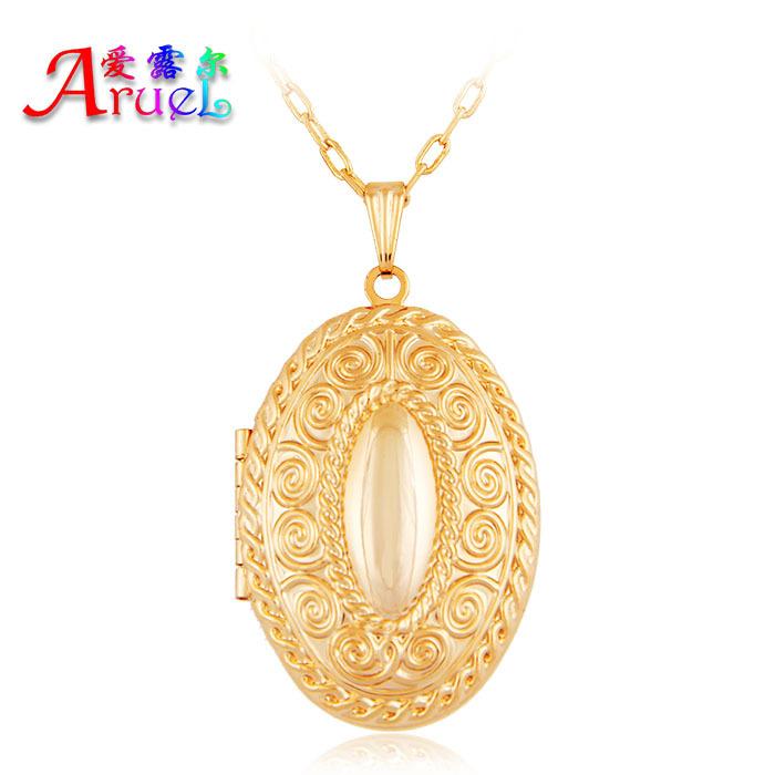 Charm Jewelry Colar Pingente Feminino Joias Ouro Korean Ladies Accessories Men Jewelry Necklace Pendant Gold Plated Lover'Joyas(China (Mainland))