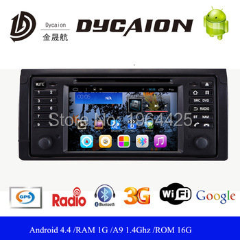 2 din gps dvd player Android 5.0.1 For BMW E39 X5 M5 E53 with WIFI rear camera GPS USB Capacitive screen Car radio e39 head unit(China (Mainland))