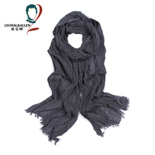 Classic Style Brand Slender Striped Printing Scarf Cotton Scarf Men Spring Autumn Multifunctional Soft Warm Shawls and Scarves(China (Mainland))