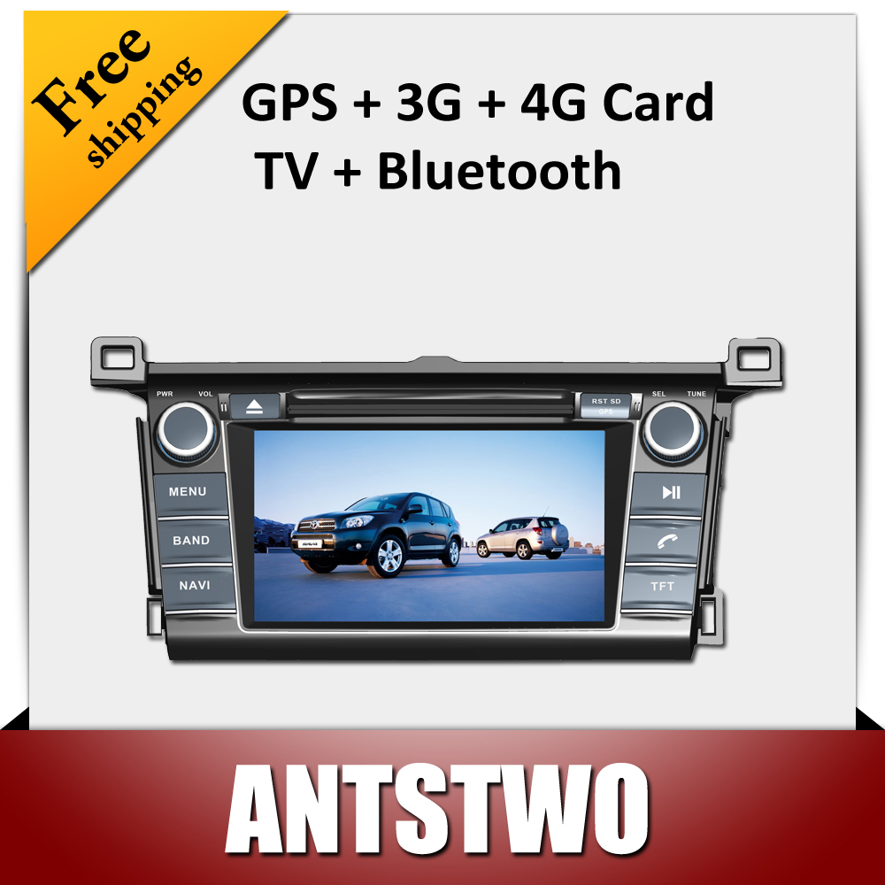 Free shipping with7'' touch screen for TOYOTA RAV4 dvd player,GPS navigater,radio,bluetooth,MP3,MP4,TV(China (Mainland))