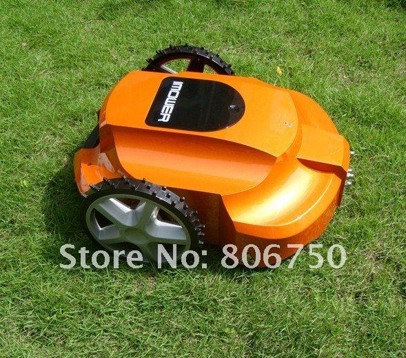 100m Virtual Wire/New products-Robot Lawn Mower(Automatic mower, Lawn mower, Grass cutter)+CE&ROHS+Free Shipping