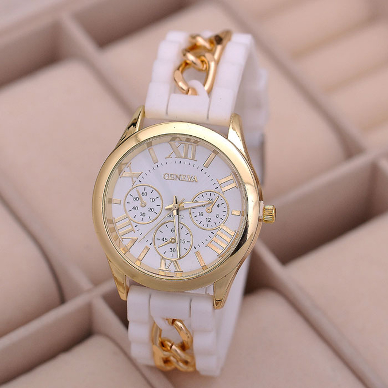 SmileOMG Fashion Women Girl Watch Silicone Roman Numerals Quartz Wrist Watches,Aug 23