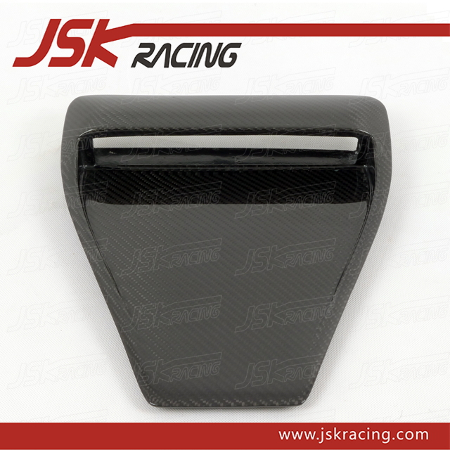 CARBON FIBER HOOD SCOOP FOR MITSUBISHI LANCER EVOLUTION 10 JSK1 (JSK200848)(China (Mainland))
