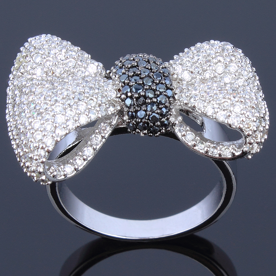 Aliexpress Buy Best friend crystal Wedding rings AAA Cubic zircon Natur