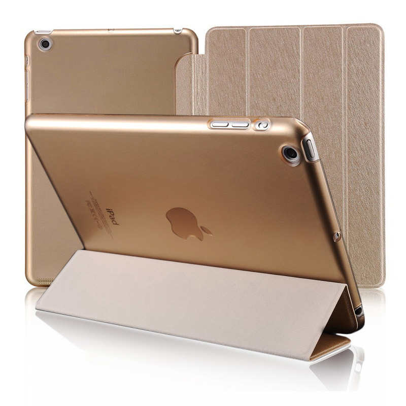 Book Style Stand PU Leather Case for iPad 2 3 4 Colorful Smart Tablet Cover Auto Sleep Design Coque Cover for iPad 2 3 4 Tomkas(China (Mainland))