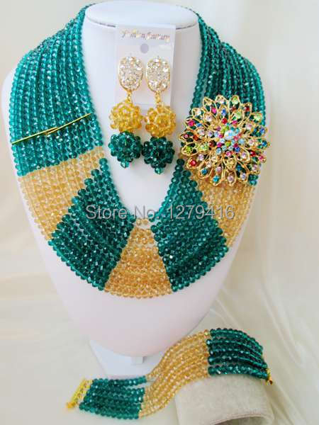 Classic  Fashion  crystal beads nigerian wedding african beads jewelry set costume jewelry sets  ASD993<br><br>Aliexpress