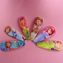 Buy 6pcs Sofia Princess Hair Accessories Fashion Hairpins Cute Cartoon BB hair bow clips headwear hair Claws girls Hair Ornaments for $1.70 in AliExpress store