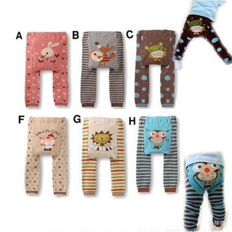 Free shipping 6pcs/lot 2013 shipping baby cartoon pantyhose big PP pants child spring and autumn legging ww051<br><br>Aliexpress