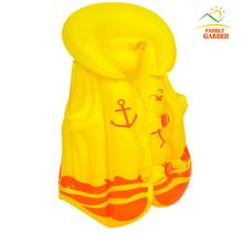 Big Size Child Safety Thick PVC Inflatable Life Jacket Swimsuit Swim Vest Kids Inflatable Life Vest Baby Swimming Vest Clothing(China (Mainland))
