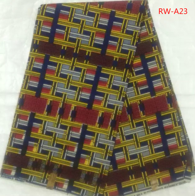 Item no rw a23 new design hot sale super wax real wax for Sewing fabric for sale