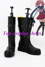 Buy Freeshipping custom-made anime Chuunibyou Demo Koi ga Shitai Takanashi Rikka Cosplay Boots Halloween Christmas festival for $64.00 in AliExpress store