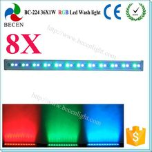 waterproof power linkable 36x1w led floodlight outdoor use dmx512 LED bar stage dj light rgb 3in1 IP65 - Shenzhen Becen Stage Equipment Co., Ltd. store