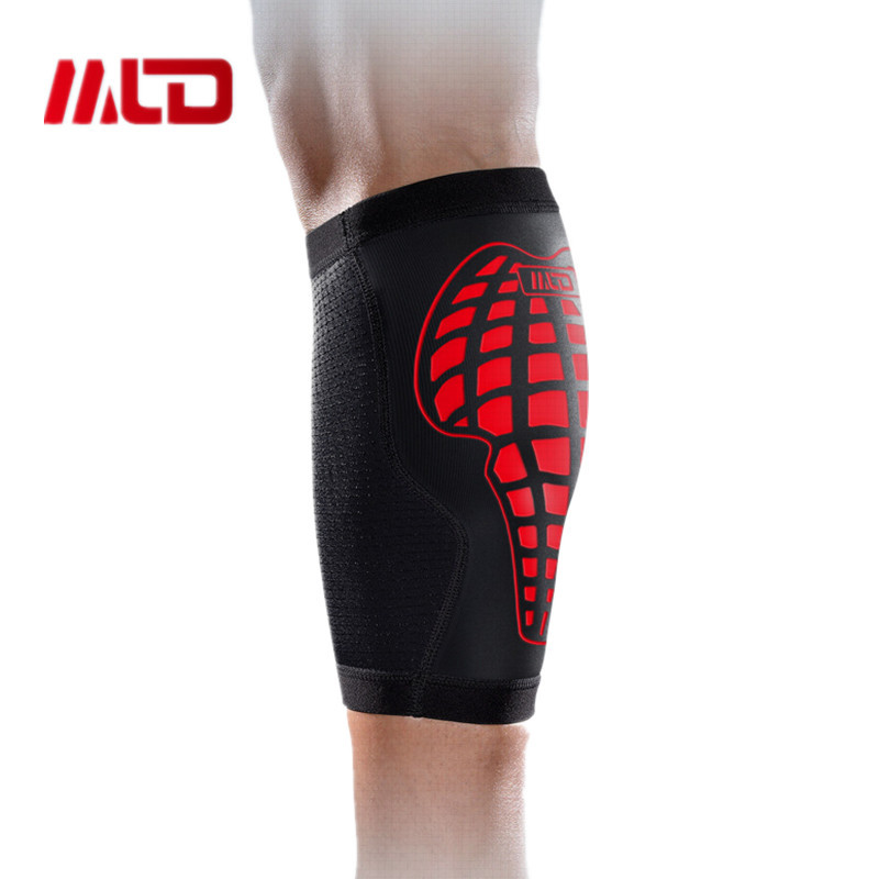 MLD Breathable Polyester nylon leg sleeve compression kneepad Basketball Calf Stretch Brace Sport Bandage Leg Support Protector<br><br>Aliexpress