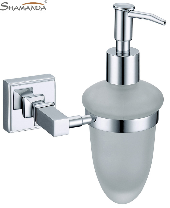 2015 Limited New Free Shipping Brass Chrome Soap Dispenser Bathroom Accessories Solid Brass