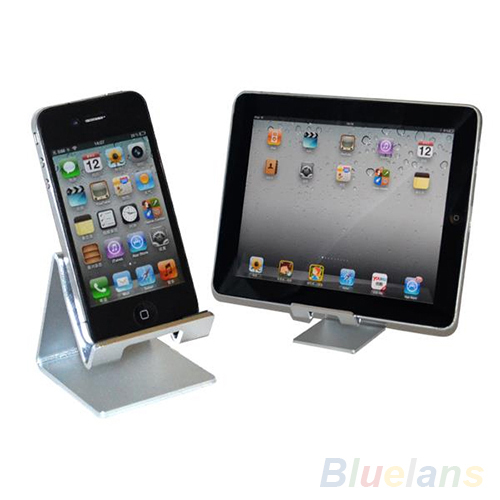 Alloy Universal Desktop Holder Table Stand for iPhone Smartphones iPad Tablet 1VH1(China (Mainland))