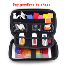 "Hot 2.5"" Bag Case for External Hard Drive Disk/Electronics Cable Organizer Bag/Mp5 Portable HDD Case storage box GH1302(China (Mainland))"
