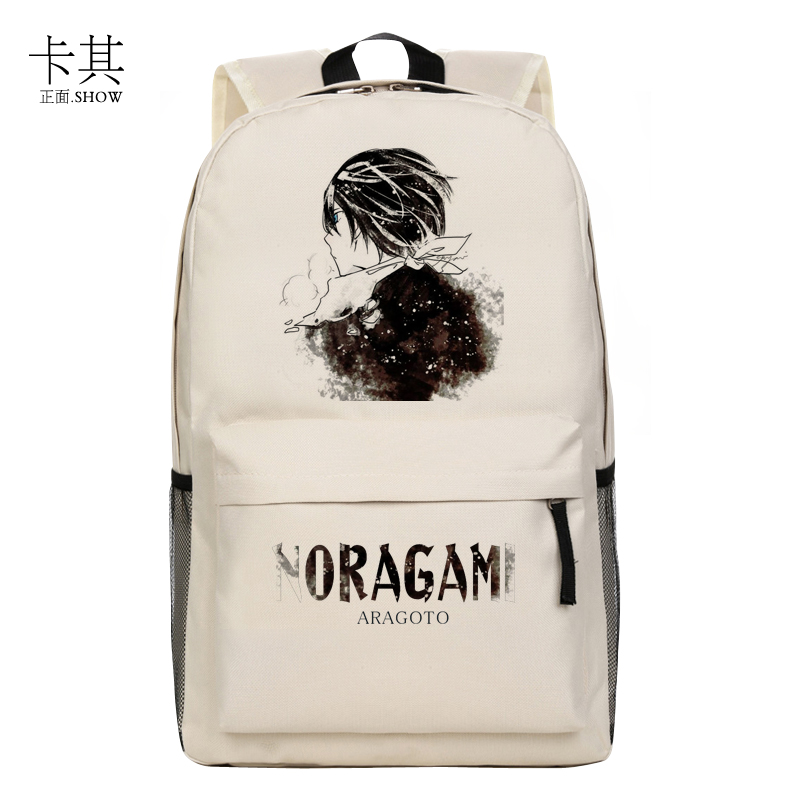 Noragami Backpack New Japanese Anime Bag ARAGOTO Yukine Cosplay Lylon backpacks<br><br>Aliexpress