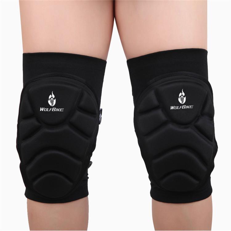 new roller skating hockey gear skating knee pads Skating skiing knee extreme sports gear/knee pad(China (Mainland))