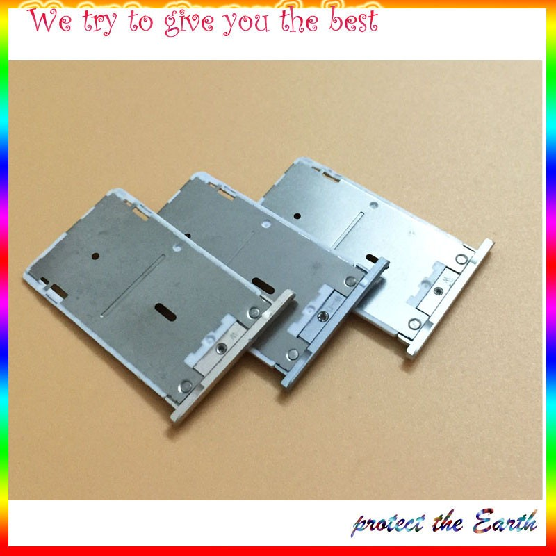 Original New For Xiaomi Redmi Note 3 Hongmi Note 3 Sim Card Holder Tray Slot Repalcement Parts