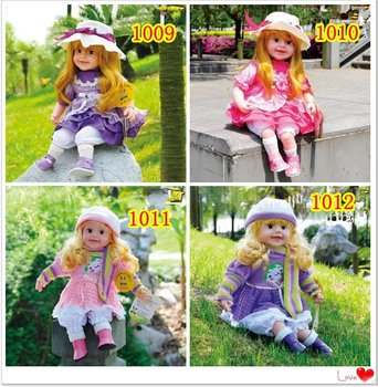 free shipment Beautiful touch Music doll upgraded version smart doll and gifts doll