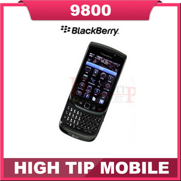 Cheapest Original 9800 Unlocked Blackberry Torch 9800 GPS WIFI 3G Mobile Phone Refurbished(China (Mainland))