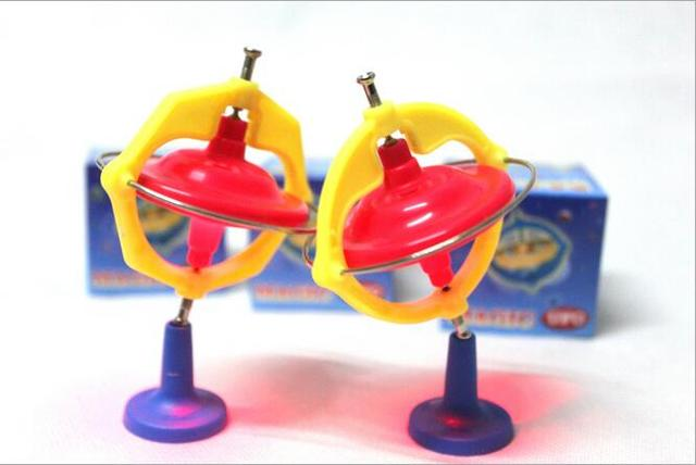 Magic gyro spinning top children's music LED lights flash gyro gift toys educational toys for children