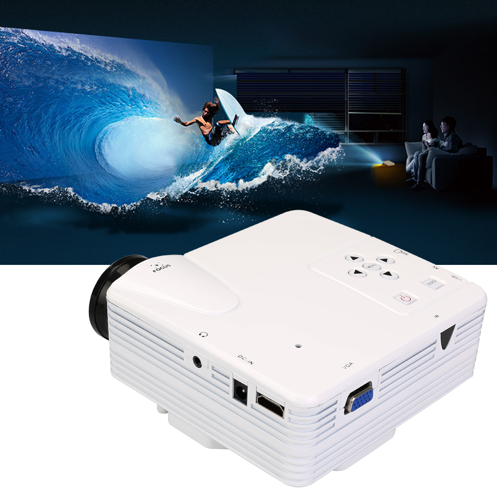 Wimius H80 MIni Video Portable Projector LED Full HD Support 1900X1080 Beamer 80 Lumens For Home Theater Video Games TV Movie(China (Mainland))